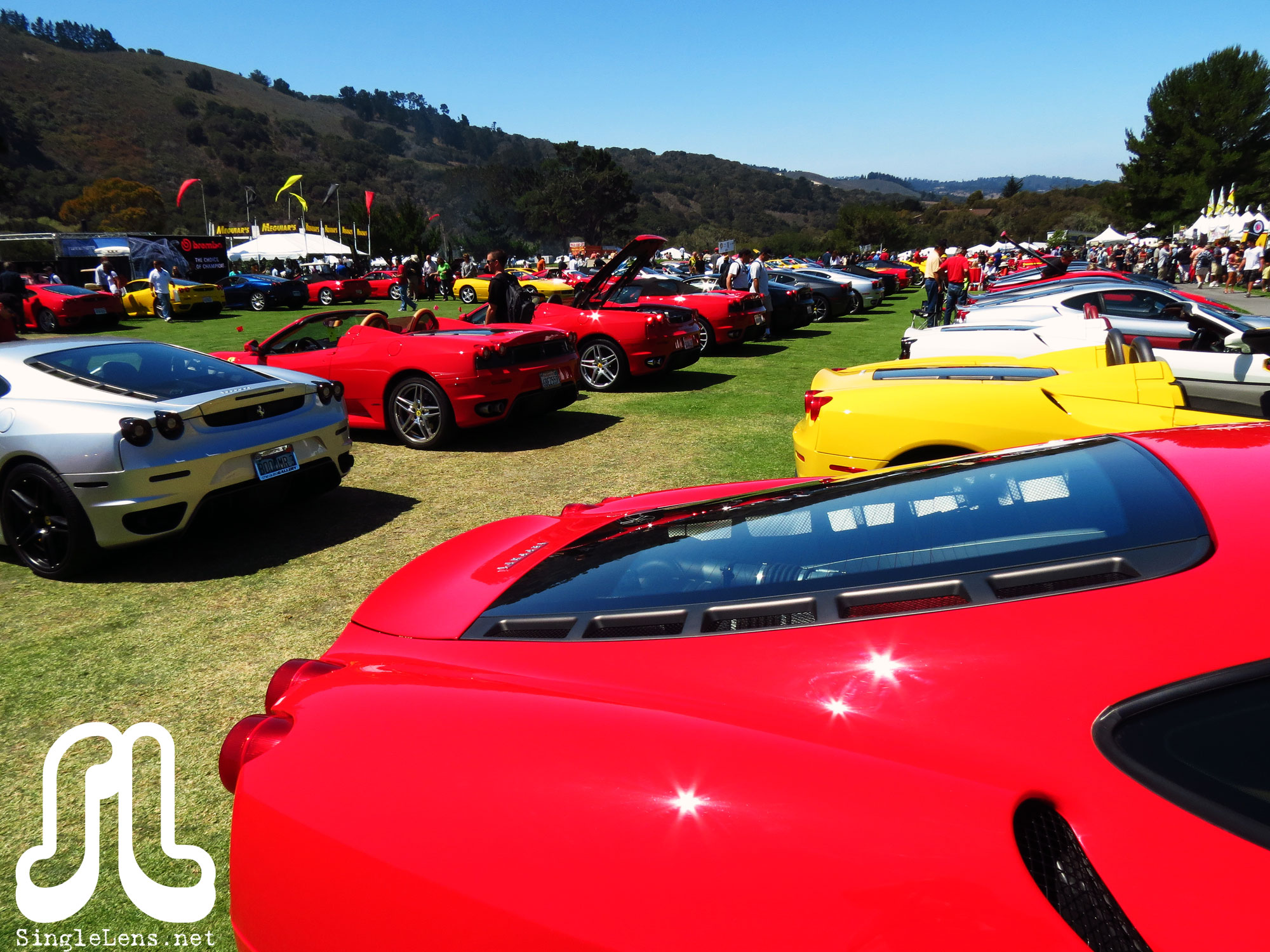 Ferraris-at-Concorso-Italiano