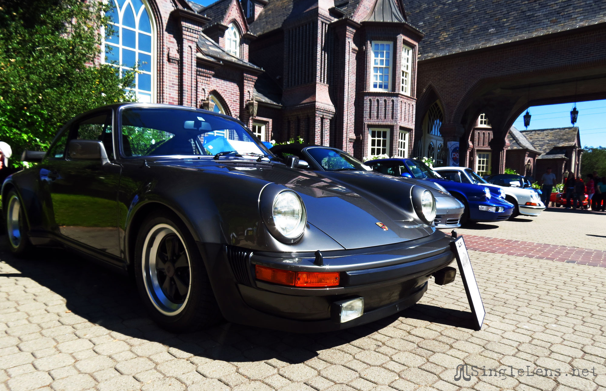 Porsche Concours at Ledson Winery