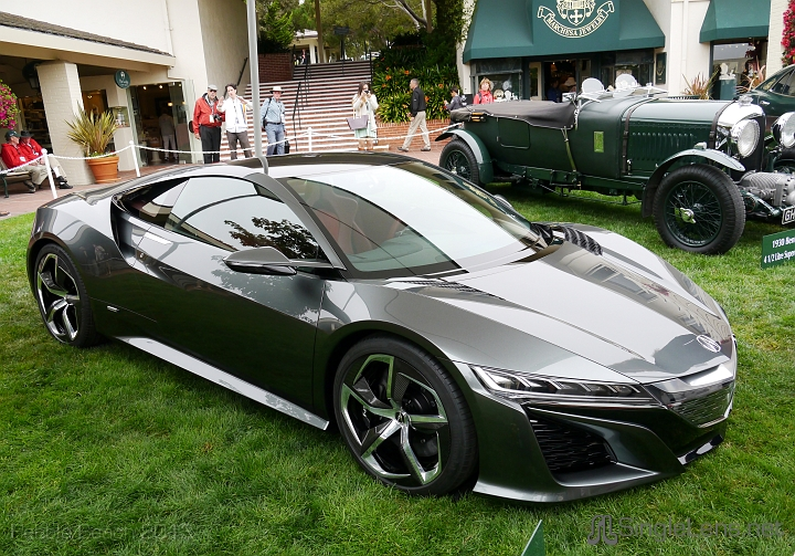 Singlelens Pebble Beach Concours 2013 080 The New Nsx