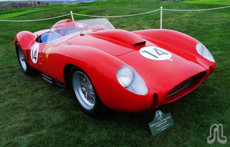 singlelens photography 2014 pebble beach concours delegance 142 1958 ferrari 250 testa rossa. Black Bedroom Furniture Sets. Home Design Ideas