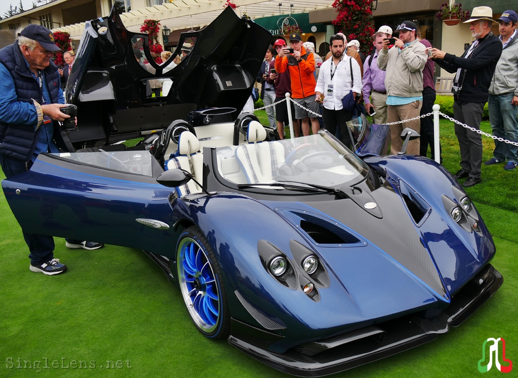 singlelens photography 2017 pebble beach concours d elegance 076 pagani zonda barchetta hp. Black Bedroom Furniture Sets. Home Design Ideas